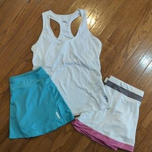 Jofit women's  tank & skirts, tennis golf,  NWOT